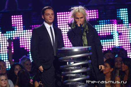 Фото с MTV Europe Music Awards - Liverpool 06.11.08