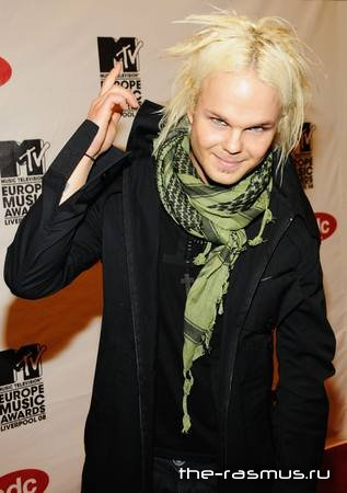 Фото с MTV Europe Awards 2008