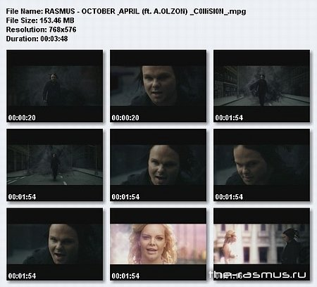 The Rasmus feat. Anette Olzon - October&April