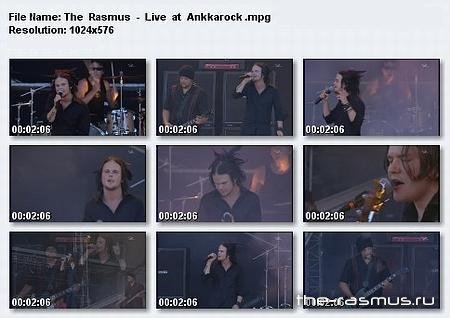 The Rasmus - Ankkarock