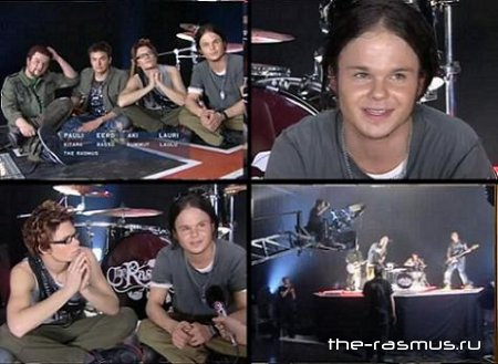 The Rasmus - Making Of In The Shadows (Nordic Version)