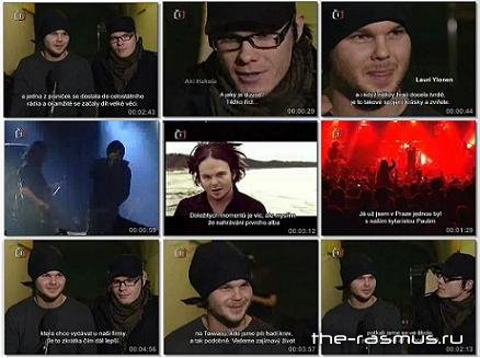 The Rasmus - Interview in Prag