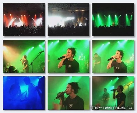 The Rasmus - Live Kantine