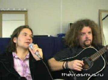The Rasmus - Lokerse Feesten Interview