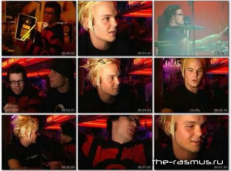 The Rasmus - Interview Ankkarock 2001 (с переводом)