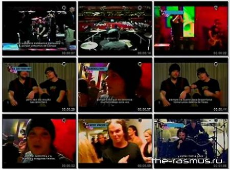 The Rasmus - MTV Latin America