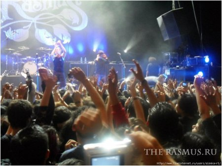 The Rasmus live in Mexico 29.10.11