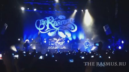 The Rasmus live at Plaza Condesa 2011