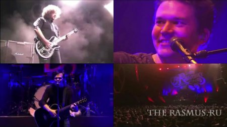 The Rasmus at El Plaza Condesa (29-10-11) by Coca Cola TV!