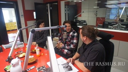 The Rasmus @ Radio Nova 14.04.12