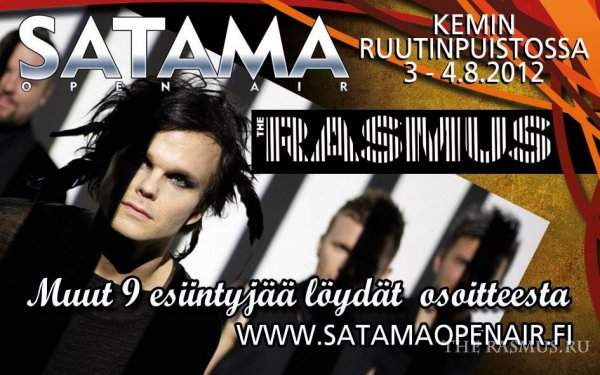 The Rasmus @ Satama Open Air 2012 (04.08.12)